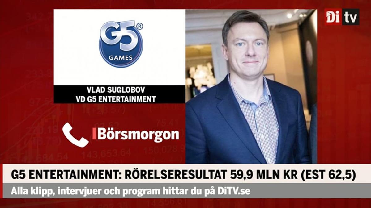 DiTV Börsmorgon Interview